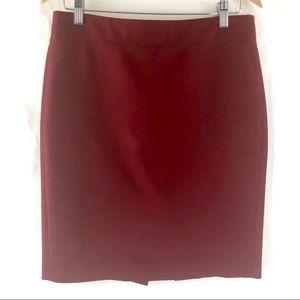J Crew No 2 Pencil skirt in cotton